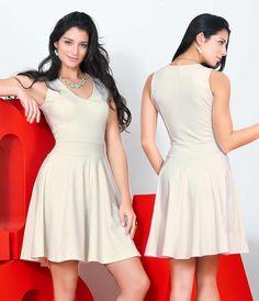 Usar un #Vestido siempre será una buena opción.  Moda femenina DUPREE.