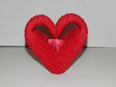 3D Origami Heart model2 tutorial : https://youtu.be/ZZhbl66VXAc Model created by Campean Petru Razvan