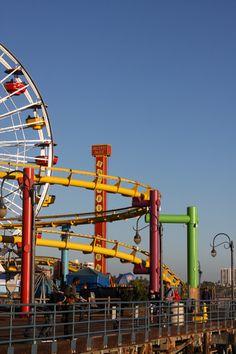 Santa Monica Pier, Santa Monica, California