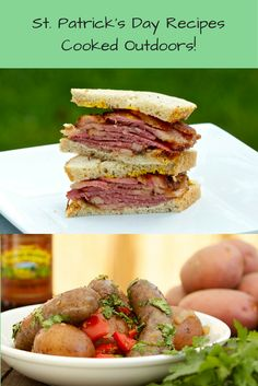 Here are some of my favorite St. Patrick's Day recipes all cooked outdoors!
