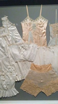 to Century slips, chemises, and wedding combination from Perelman Center's Wear Words Exhibit Philadelphia Museum Of Art, Fashion History, Exhibit, Slip On, Rompers, How To Wear, Wedding, Dresses, Style
