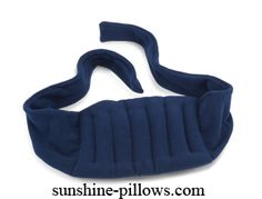 """Microwaveable Lumbar or Lower Back Pain Heating Pad or Wrap - I can totally remake this - 3 lbs flax seed, enough fabric to make the wrap 63"""" x 10"""" - the heating portion measures 10"""" x 18"""", the cover is made of soft fleece and in between is a layer of cotton for insulation =)"""