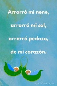 Poems | Poemas. Arrorró mi nene, arrorró mi sol, arrorró pedazo de mi corazón.