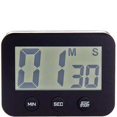 TIME BANDITS Eieruhr digital    Die Time Bandits-Eieruhr passt beim Kochen oder Backen fast 100 Minuten lang auf das exakte Timing auf - und gibt im richtigen Moment unüberhörbar Laut. So gart alles auf den Punkt und kommt rechtzeitig vom Herd, aus dem Ofen und auf den Tisch. Digitaler Kurzzeitmesser mit einstellbarem Zeitraum von 1 - 99 min 59 sec. Inklusive Magnete zum einfachen Befestigen.  ...