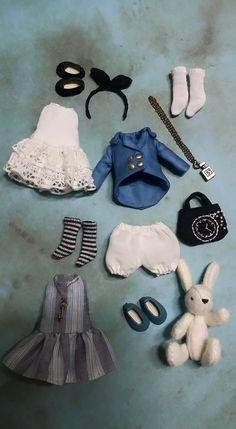 by Sun Joo lee Blythe Dolls, Barbie Dolls, Doll Closet, American Girl Clothes, Sewing Dolls, Doll Repaint, Fairy Dolls, Knitted Dolls, Custom Dolls
