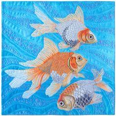 Goldfish Quilt - Susan Brubaker Knapp - Quilting Daily