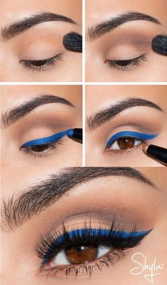 Hot Blue makeup Hot Blue makeup Related posts: 37 Ideas Eye Makeup Blue Inspiration For 2019 Make-up Blue Eyeshadow Prom Eyeliner Ideen Neue Hochzeit Make-up Blue Life Ideen Wedding Makeup For Brown Eyes Blue Urban Decay 21 Ideas For 2019 Hooded Eye Makeup, No Eyeliner Makeup, Eye Makeup Tips, Mac Makeup, Eyeshadow Crease, Makeup List, Pink Eyeshadow, Eyeshadow Palette, Colorful Eye Makeup