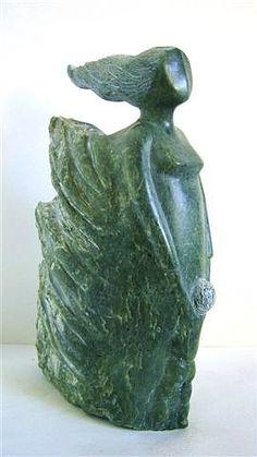 Art Sculpture, Sculpture Ideas, Abstract Sculpture, Garden Sculpture, Marble Stones, Soapstone, Stone Carving, Female Form, Garden Art
