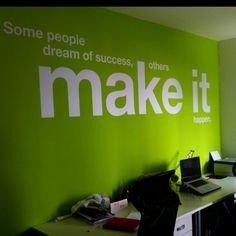 I love the idea of message walls.  Maybe this is a little bright for the house.