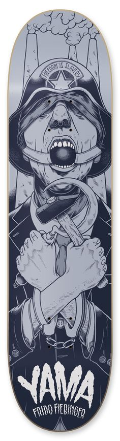 yama skateboards on Behance