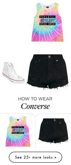 """""""Untitled #409"""" by kaleyhanson on Polyvore featuring Converse"""