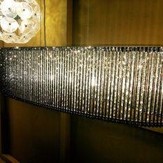 Luminarias en exhibición en tienda