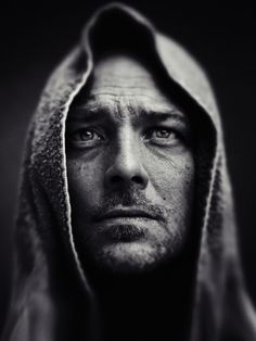 ♂ Black and white photography man portrait