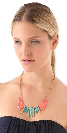 Gemma Redux Bib Necklace