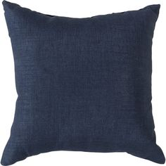 Add a pop of color to your patio chaise or sunroom seating group with this stylish pillow, showcasing a blue hue.  Product: Pill...