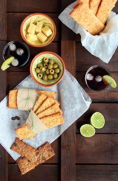 Barritas de pan con Old Amsterdam http://ricosinazucar.com/2012/10/01/barritas-de-aperitivo-al-old-amsterdam/