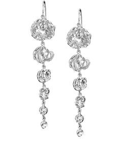 Silver Drop Earrings Uk Jewelry Design Designer Jewellery Handmade Sterling Collection Gold