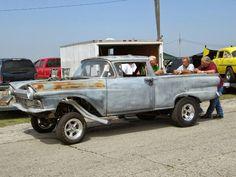 57 ford ranchero gasser