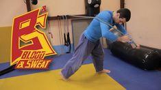 Тренировка и упражнения с борцовской резиной Resistance band judo workout - YouTube