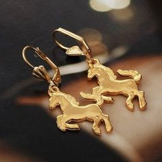 Earrings2 Equestrian Gifts, Types Of Metal, Gold Rings, Cufflinks, Take That, Horses, Earrings, Accessories, Jewelry