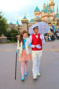 Disneybound Burt and Mary Poppins