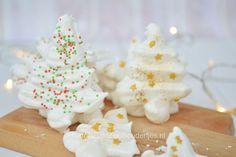 Aquafaba: vegan kerstboom meringues