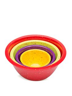 Confetti Collection Nested Bowls (Set of 4) by Zak! Designs at Gilt