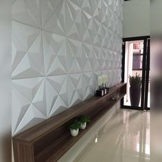 Wall Painting Decor, Tv Wall Decor, Loft Design, Wall Design, Tv Unit Decor, 3d Wall Tiles, Tv Cabinet Design, 3d Wall Panels, Wallpaper Decor