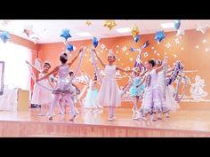 Детский «Новогодний танец снежинок» - YouTube