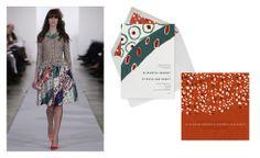e-invitations by oscar de la renta x paperless post / cant resist a design collab