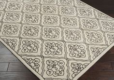 Modern Classics Area Rug | Off-White Floral and Paisley Rugs Hand Tufted | Style CAN1913