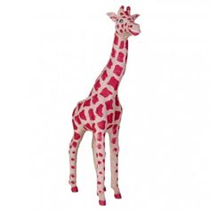 Burlap Giraffe