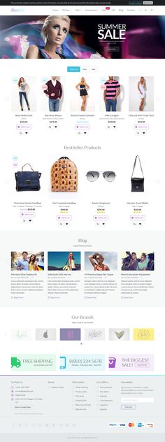 illusion Awesome Premium Multipurpose Magento Theme 2015 #fashion #clothes