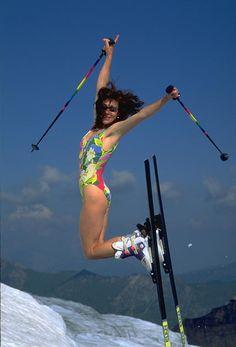 retro skiing - Google Search