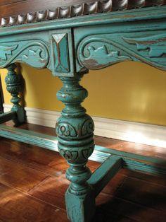 European Paint Finishes: ~ Old World European Sideboard ~