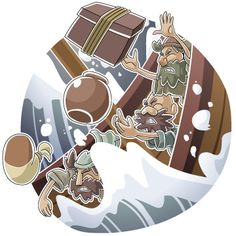 Christian clipart: Jonah and the Big Fish 4 Bible Illustrations, School Clipart, Yom Kippur, Christian Kids, Big Fish, Bible Stories, Sunday School, Clip Art, Children