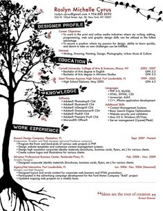 love this tree not sure if itll work for me perhaps use free creative resume templatescreative resume designonline resume templateresume