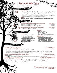 graphic resume 5 1275x1650 border? | graphic design // layout ... - Graphic Design Resume Example