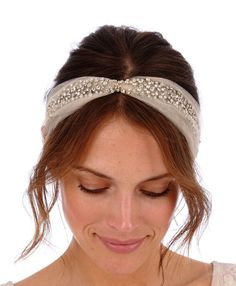 Shop for tiara on Etsy, the place to express your creativity through the buying and selling of handmade and vintage goods. Tulle Headband, Headpiece Wedding, Bridal Headpieces, Bridal Comb, Bridal Hair, Headband Hairstyles, Wedding Hairstyles, Pelo Vintage, Stylist Pick