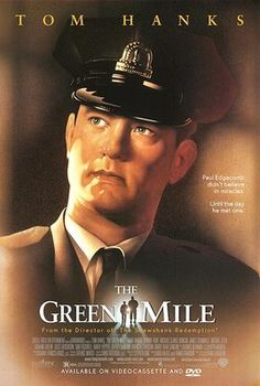 The Green Mile (1999) - Movie Poster - Tom Hanks - Michael C. Duncan