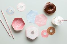 Go Nuts for Donuts Printables ~ Tinyme