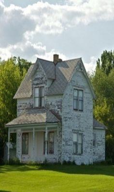 Tall Old Farm House