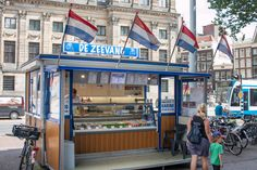Hollandse Nieuwe Haring (New Holland Herring). 10 Dutch Foods You Must Try In The Netherlands #Holland #food #dutch