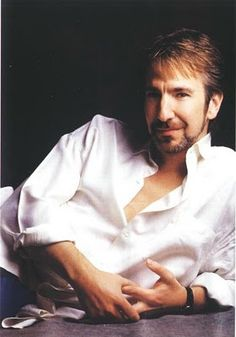 This is Alan Rickman. he plays Snape from harry potter series. here he looks like Chuck Norris Alan Rickman Severus Snape, I Look To You, How To Look Better, Johnny Depp, Hans Gruber, Alan Rickman Always, Severus Rogue, Raining Men, Hollywood