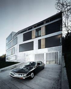 Architekten- und Künstlerhaus am Fusse des Üetlibergs in Zürich
