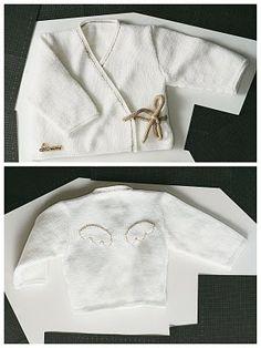 patron tricot gratuit cache coeur
