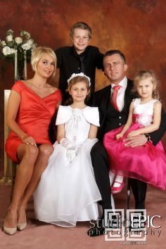 first communion family pictures - Google Search