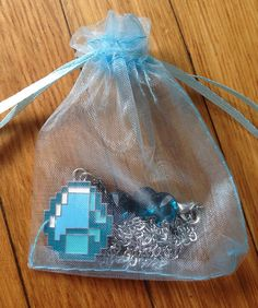 He Got me A diamond necklace. Minecraft Party, Minecraft Houses, Minecraft Stuff, Minecraft Ideas, Birthday Diy, Birthday Parties, Bff Necklaces, Its My Bday, Awesome