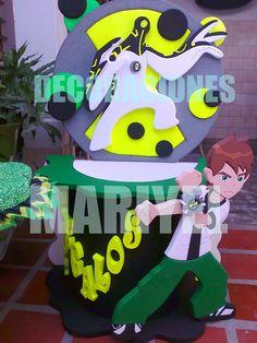 Caja de Regalo de BEN 10 Ideas Para Fiestas, Princess Peach, Boy Or Girl, Party, Kids, Anime, Power Ranger Party, Ben 10 Party, Construction Birthday