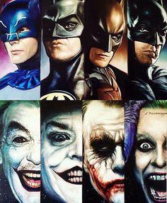 The Cinematic Evolution of Batman and Joker